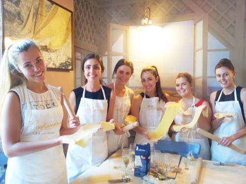 cooking class milano fresh pasta
